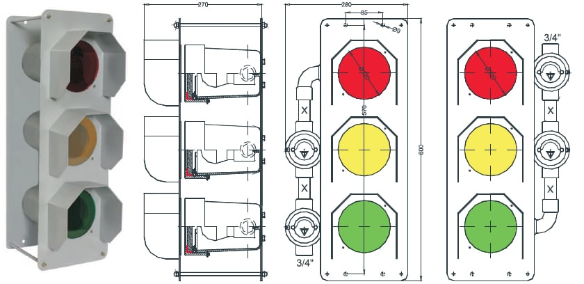 traffic lights diagram