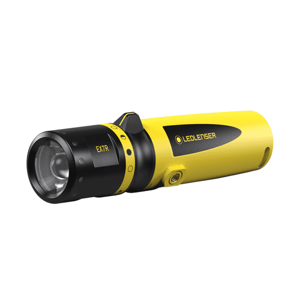 Ledlenser® EX7R ATEX Rechargeable LED Torch Zone 1/21