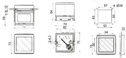 rxplosion proof voltmeter ammeter