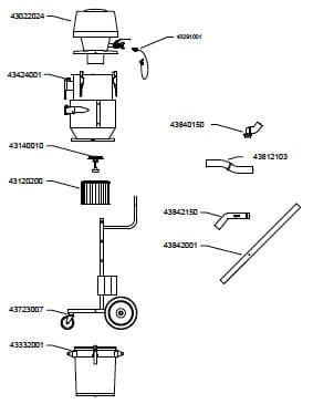 nerderman 216a vacuum cleaner
