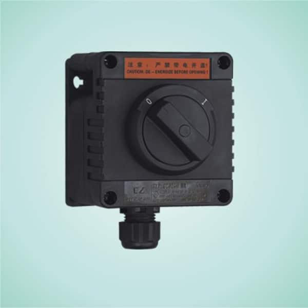 CZ 0240/51 Full plastic explosion-proof illumination switches