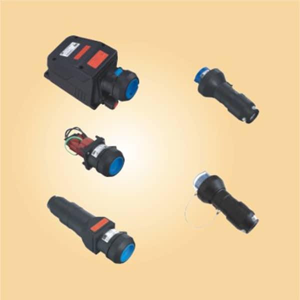 CZ0521 Full plastic Esplosion-proof pluge and sockets 16A 3P