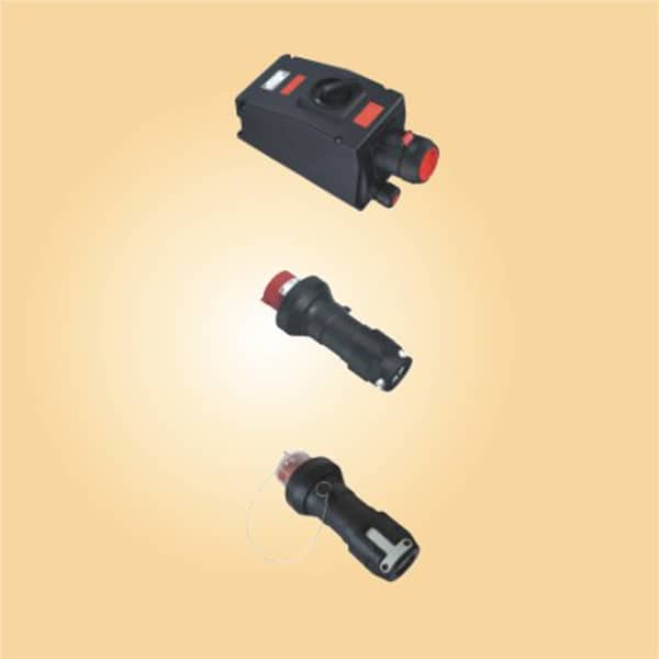 CZ0254 Full plastic Explosion-proof pluge and sockets 125A 4P
