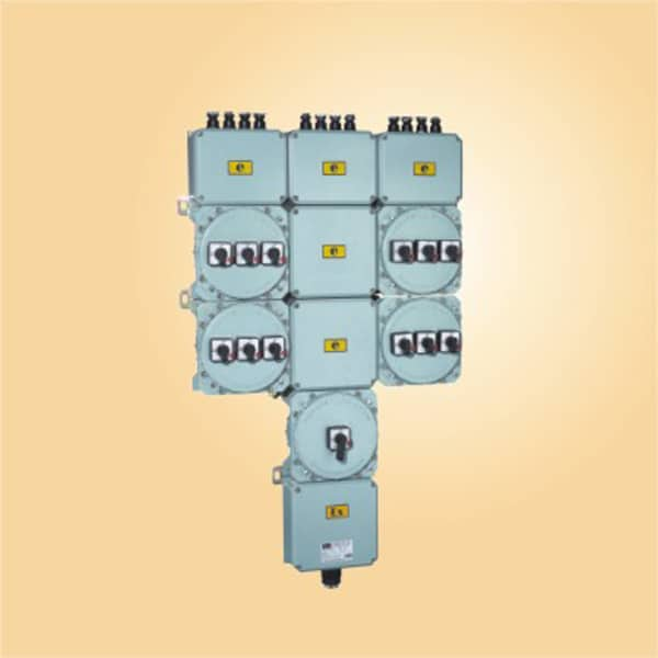 CE91 Explosion-proof illumination distribution boxes(with electrical leakage protection)